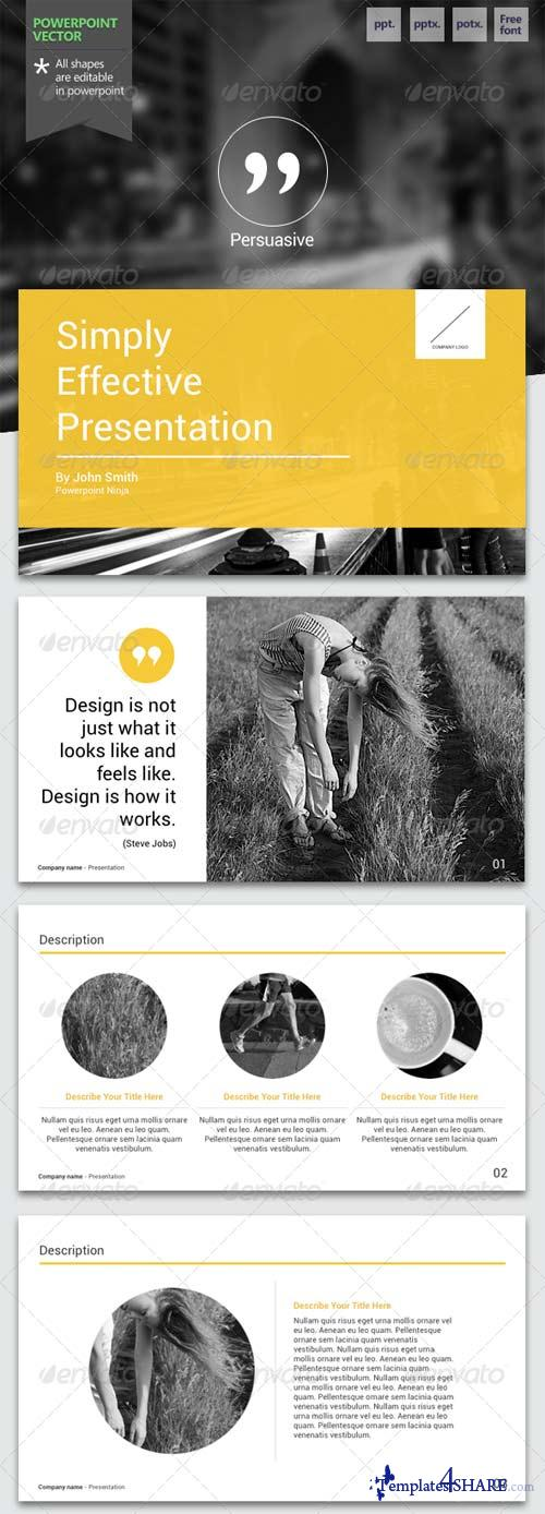 GraphicRiver Persuasive - Powerpoint Template