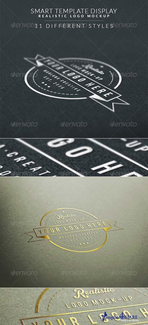 GraphicRiver Smart Template Display Realistic Logo Mockup