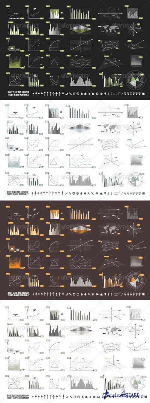 GraphicRiver Graphs & Elements