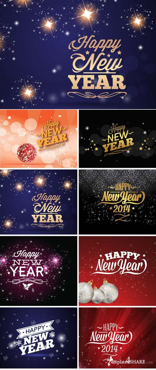 InkyDeals - 30 New Year Vector Illustrations