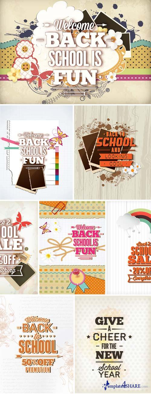 InkyDeals - 30 Back to School Vector Illustrations