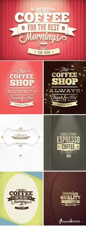 InkyDeals - 30 Coffee Vector Illustrations