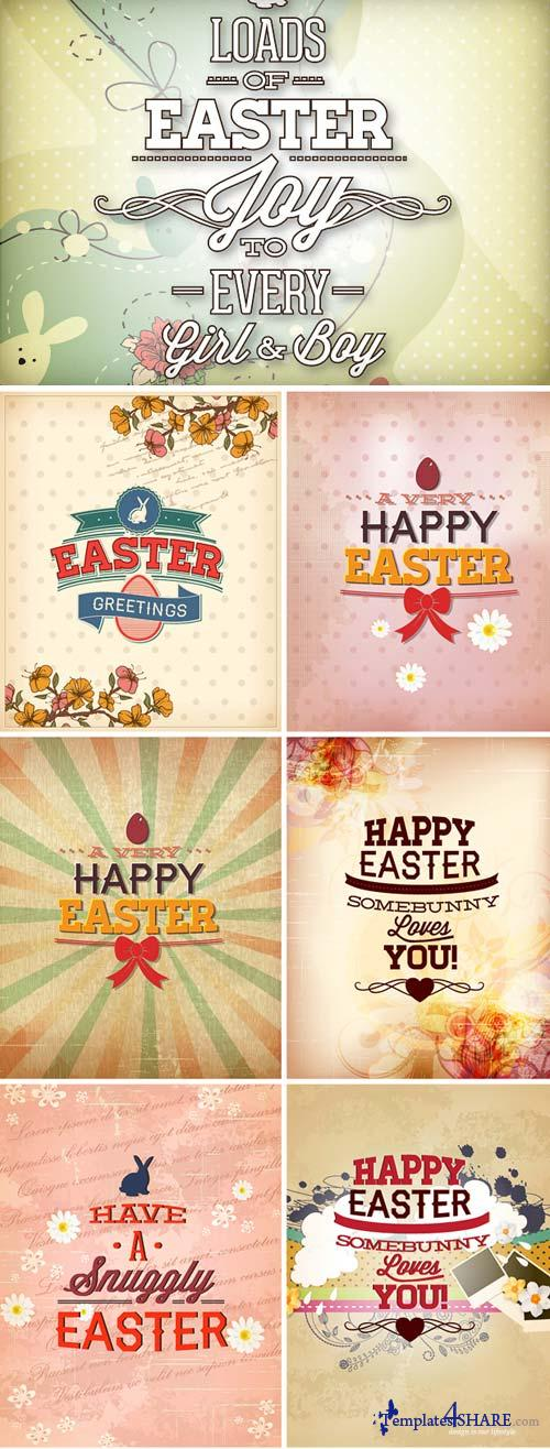InkyDeals - 30 Easter Vector Illustrations
