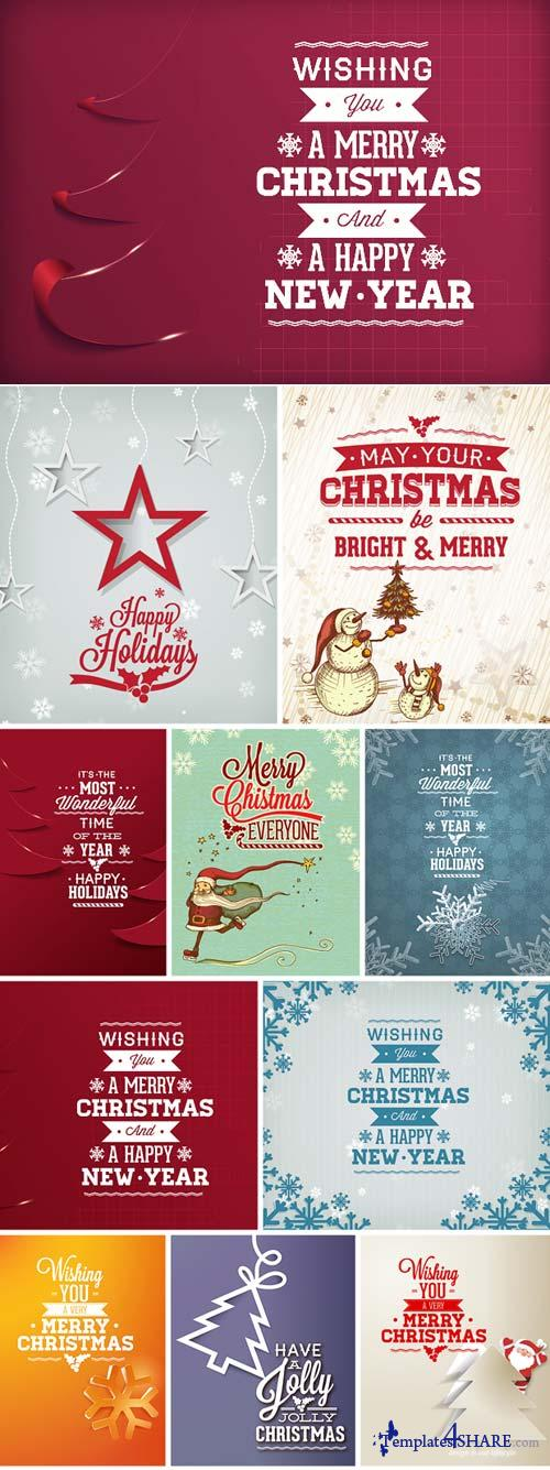 InkyDeals - 60 Christmas Vector Illustrations