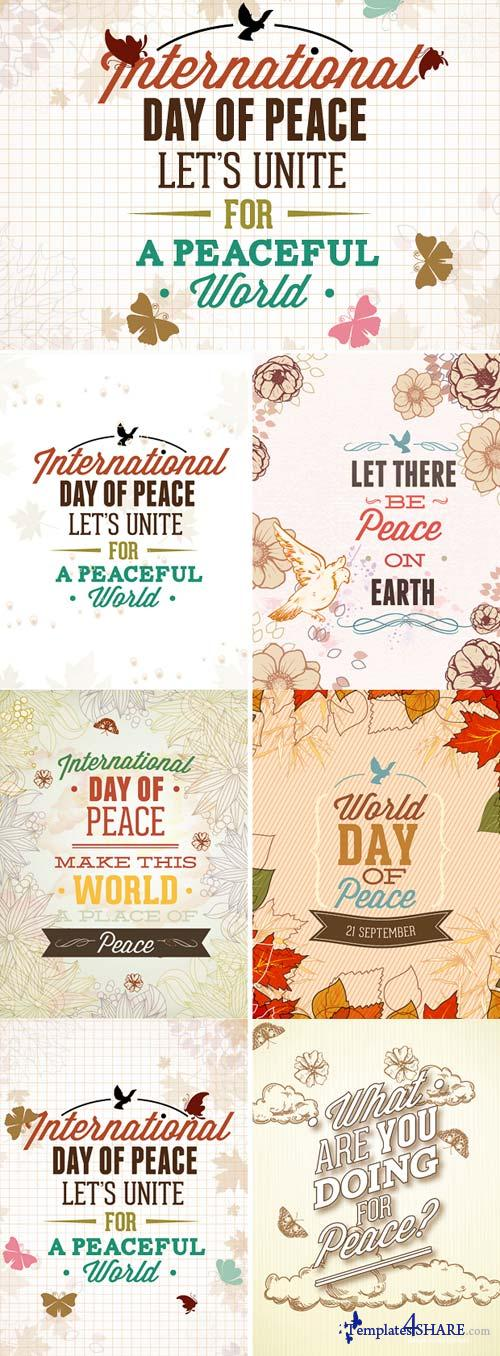InkyDeals - 30 International Day of Peace Vector Illustrations