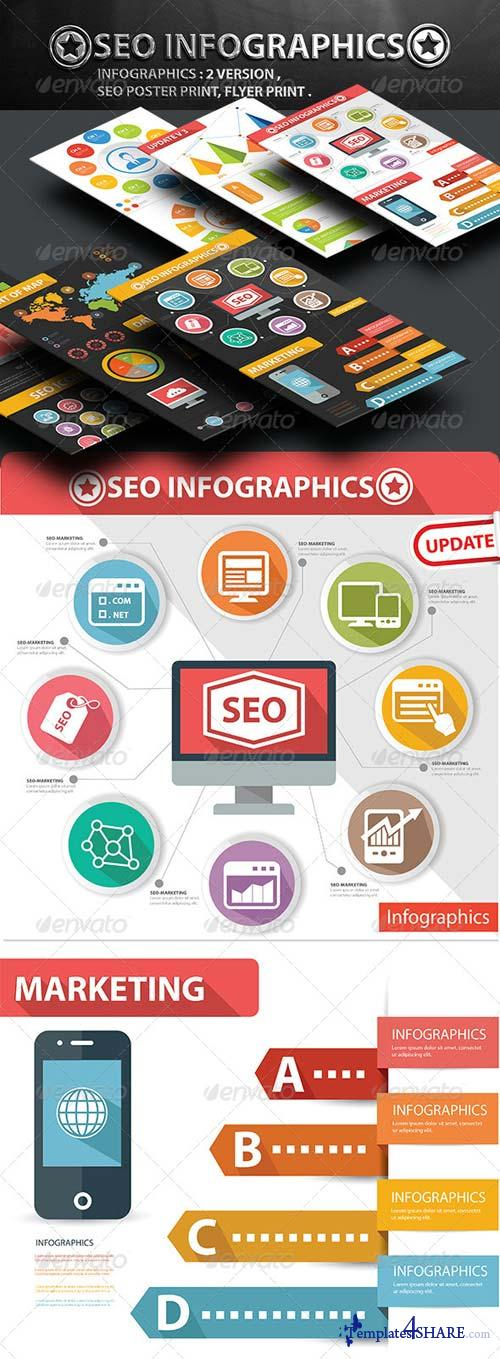 GraphicRiver SEO Infographics [Update + Poster Print]