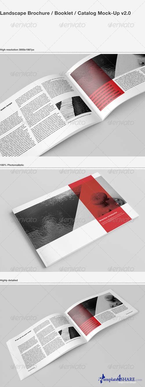 GraphicRiver Brochure / Catalog Mock-Up 1583241