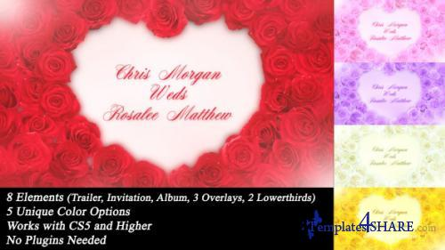 Wedding Roses - After Effects Project (Videohive)