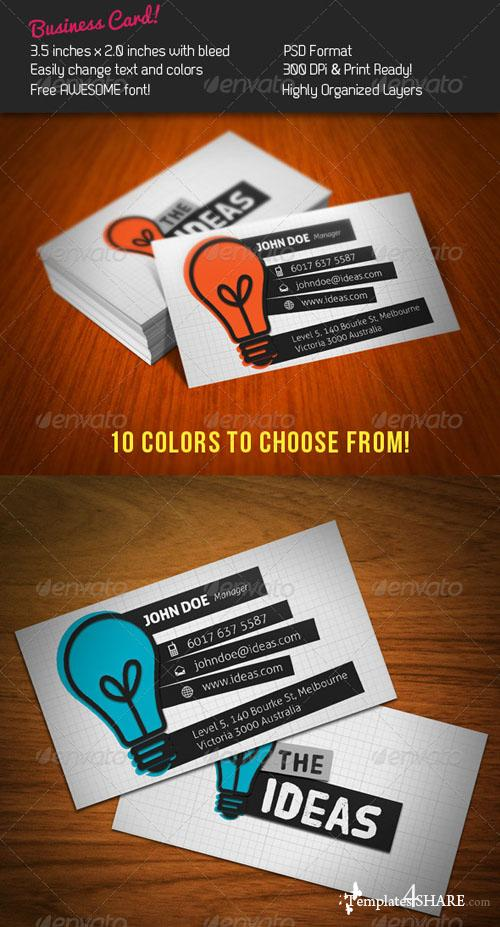 GraphicRiver Ideas Business Card
