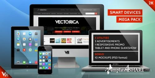 Smart Devices - Mega Pack - After Effects Project (Videohive)