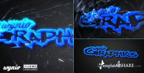 Through Glass Logo - After Effects Project (Videohive)