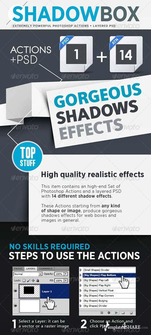 GraphicRiver Special Drop Shadows Generator