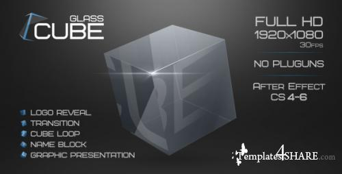 Glass Cube Project - After Effects Project (Videohive)