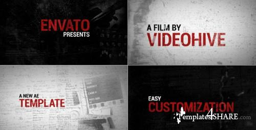 Evidence - After Effects Project (Videohive)