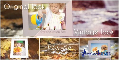 Waterfall Photo Gallery - After Effects Project (Videohive)