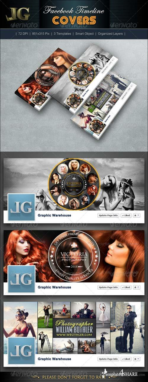 GraphicRiver FB Timeline Cover V5