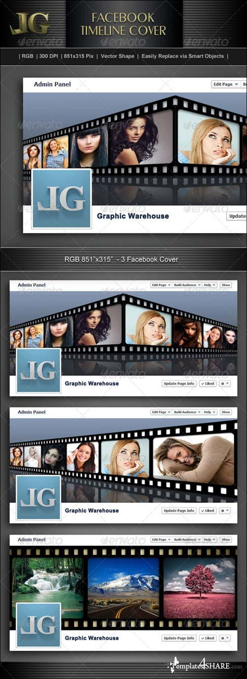 GraphicRiver Facebook Timeline Cover V4