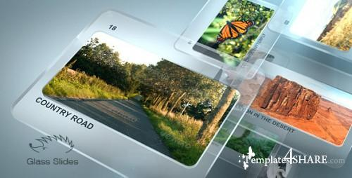 Glass Slides - After Effects Project (Videohive)