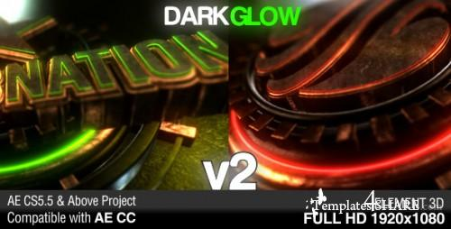 Dark Glow Logo Reveal v2 - After Effects Project (Videohive)