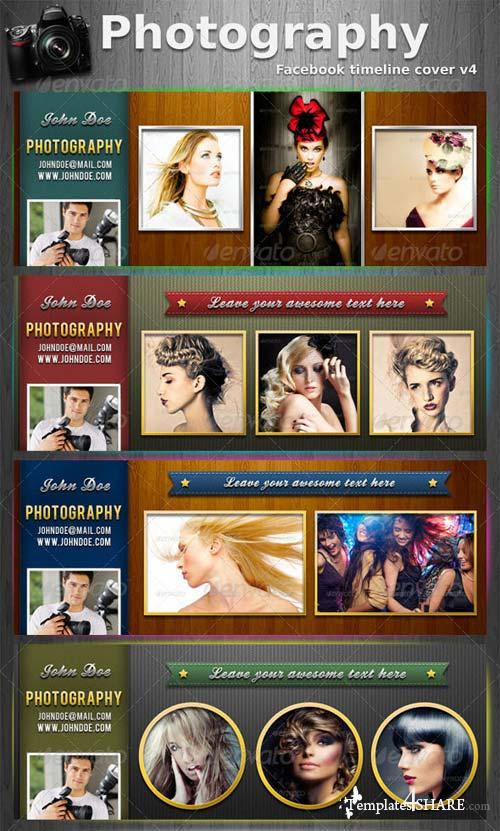 GraphicRiver Photography FB Timeline Cover V4