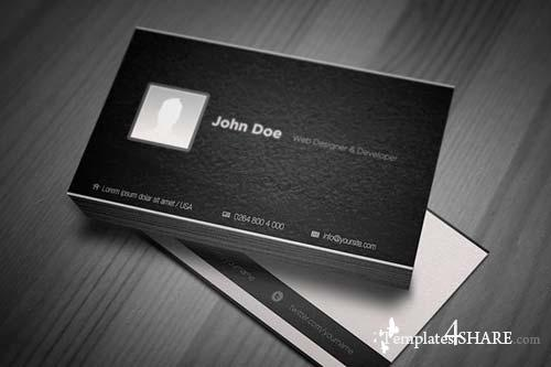 CreativeMarket My Identity Business Card