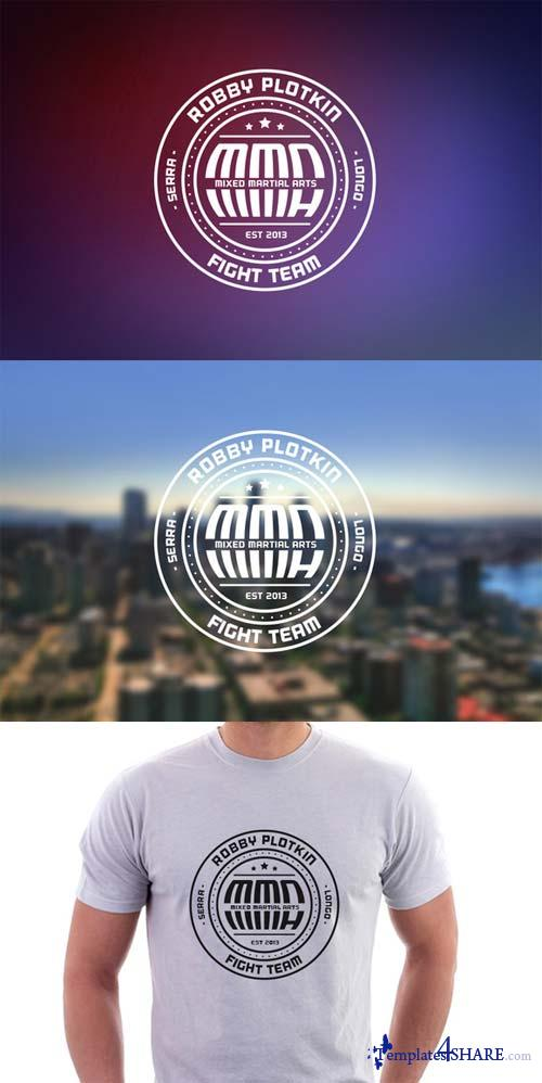 CreativeMarket Badge Logo + Simplified Lockup