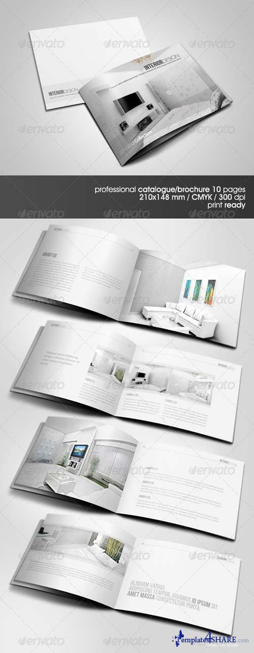 GraphicRiver Clean & Modern A5 Catalogue