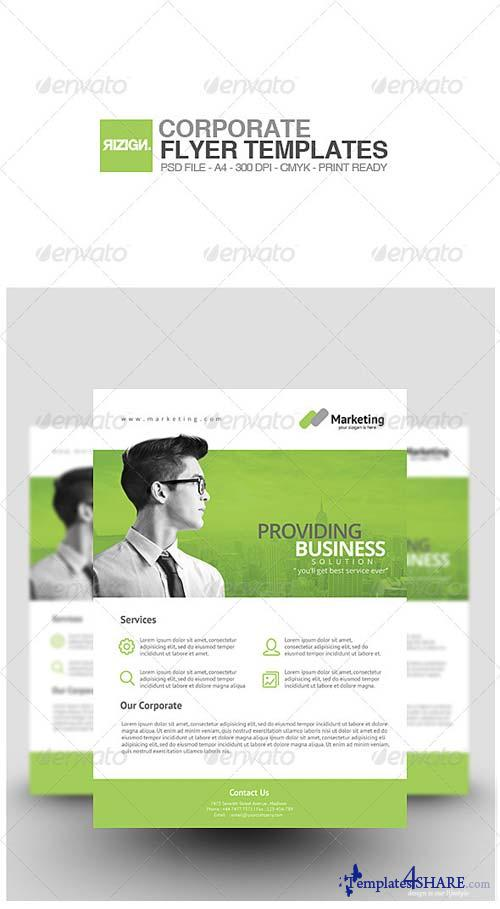 GraphicRiver Corporate Flyer 7248879