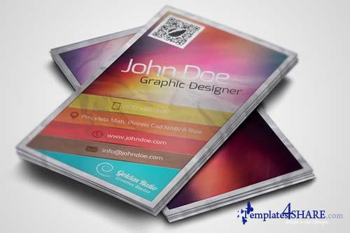CreativeMarket Creative Business Card