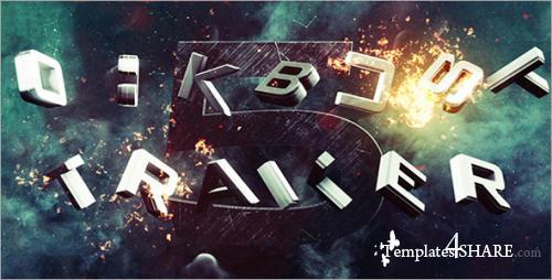 Blockbuster Trailer 5 - After Effects Project (Videohive)