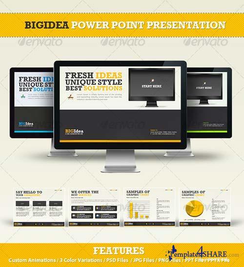 GraphicRiver BIGIdea Power Point Presentation