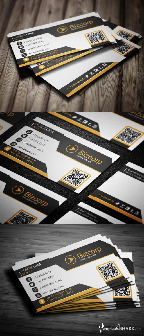 CreativeMarket Corporate Business Card 005