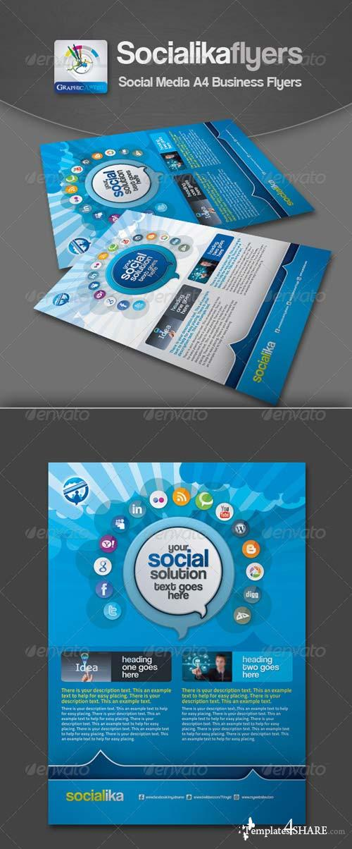 GraphicRiver Socialika Social Media Business Flyers