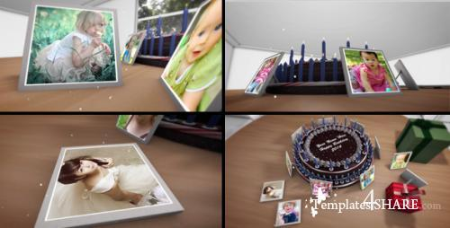 Happy Birthday - After Effects Project (Videohive)