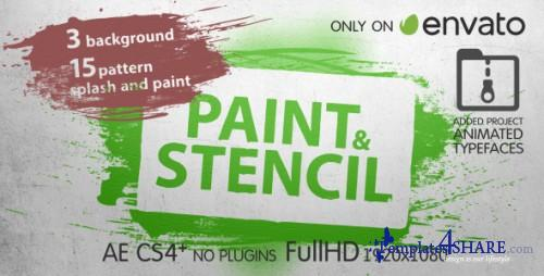Paint & Stencil - After Effects Project (Videohive)