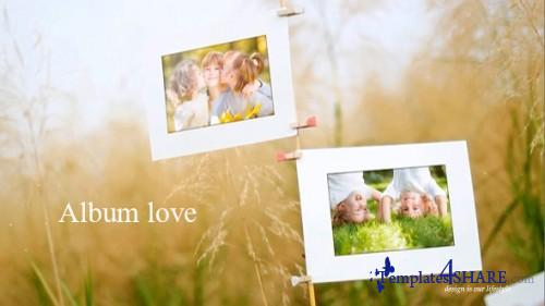 Album Love - After Effects Project (Videohive)