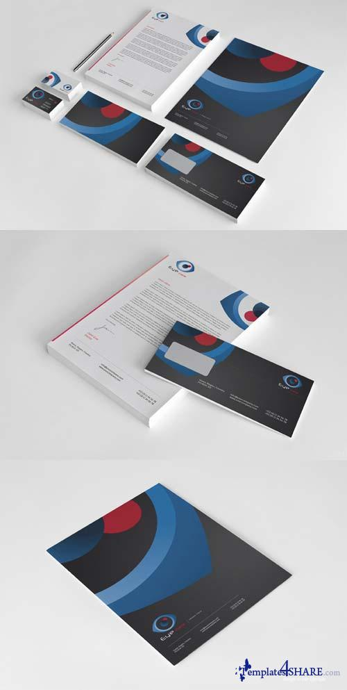 CreativeMarket Eye Care Corporate Identity