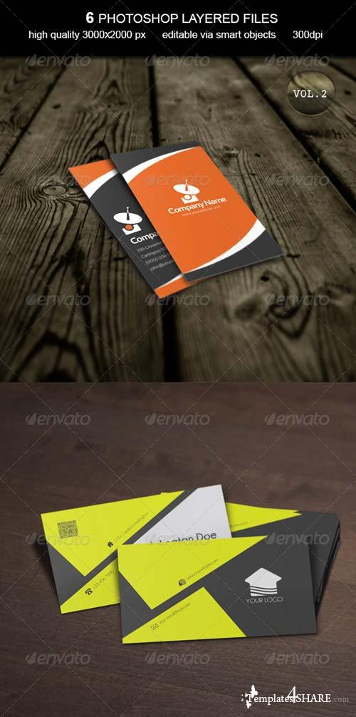 GraphicRiver Business Card MockUp -Vol.2