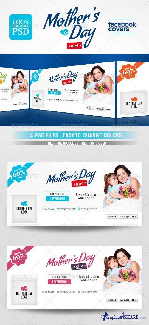 GraphicRiver Mothers Day Facebook Cover
