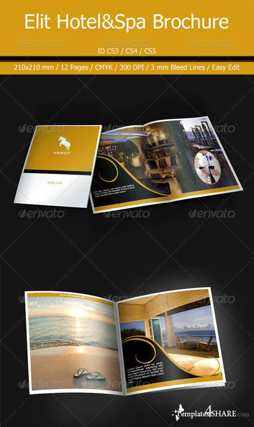 GraphicRiver Aurum Elit Hotel&Spa Brochure
