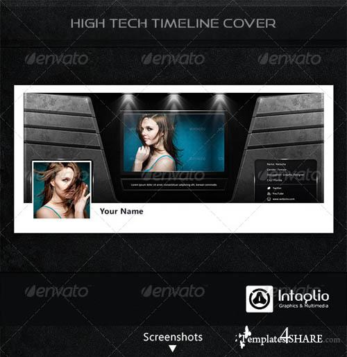 GraphicRiver High-Tech Facebook Timeline Cover