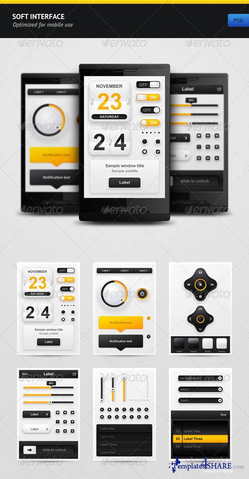 GraphicRiver Soft Interface