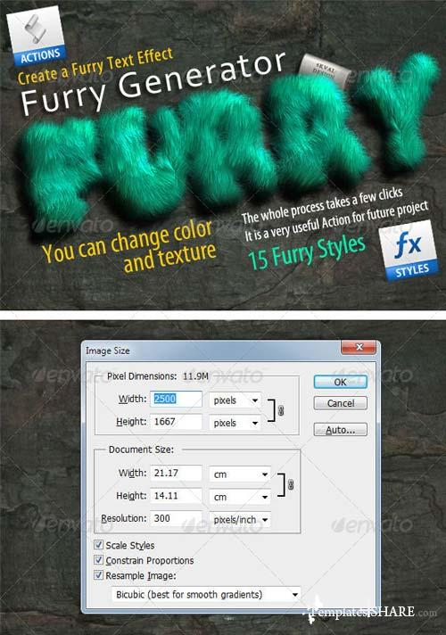 GraphicRiver Furry Generator