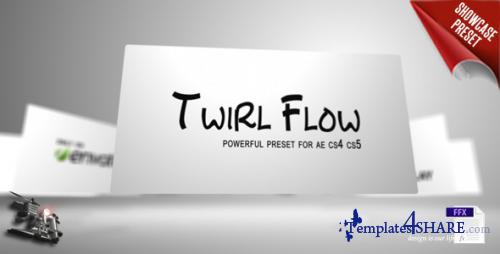 Twirl Flow Preset - After Effects Presets (Videohive)