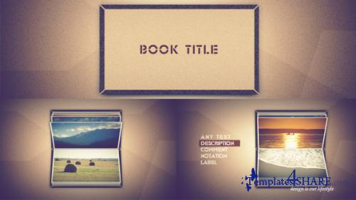 Photo book scrolling - After Effects Project (Videohive)