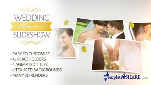 Wedding Memories Slideshow - After Effects Project (Videohive)