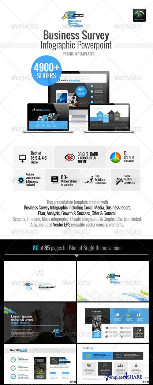 GraphicRiver Business Survey Infographic Template