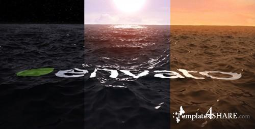 Ocean Water Logo Ident - After Effects Project (Videohive)