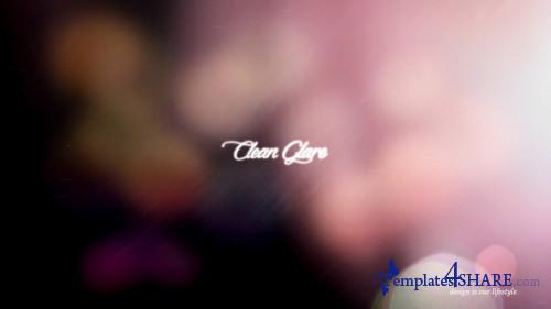Clean Glare - After Effects Project (Videohive)
