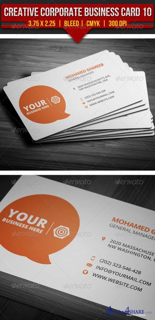 GraphicRiver Creative Corporate Business Card 10